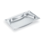 Vollrath 3101120 Super Pan Super Shape Full Size Kidney Pan - Full Size Steam Table Pans