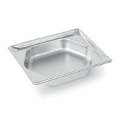 Vollrath 3102240 Super Pan Super Shape Half Size Hexagon Pan - Full Size Steam Table Pans