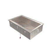 Vollrath 36654 Non-Refrigerated Short Side Cold Pan - Vollrath Steam Tables