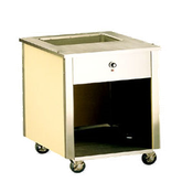 Vollrath 37080 Signature Server Entree Cart - Kiosks and Carts