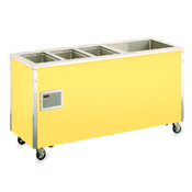 Vollrath 37095 Signature Server Hot/Refrigerated Food Station - Portable Steam Tables