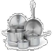 Vollrath Optio Stainless Steel Cookware Set - Vollrath Cookware