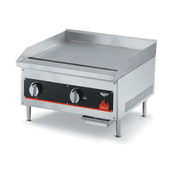 "Vollrath 24""W Cayenne Gas Flat Top Griddle - Vollrath Countertop Cooking Equipment"