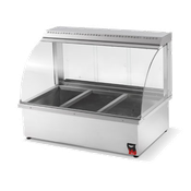Vollrath 3-Division Hot Food Bar - Vollrath Warming and Display Equipment