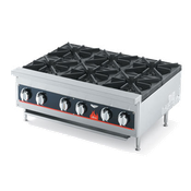 Vollrath 6-Burner Counter Top Gas Hot Plate - Hot Plates