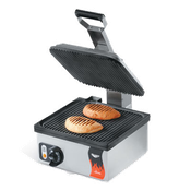 Vollrath Cayenne Non-Stick Ribbed Single Panini Grill - Vollrath Countertop Cooking Equipment