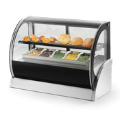 Vollrath 40853 Curved Glass Refrigerated Display Cabinet - Vollrath Warming and Display Equipment