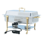 Vollrath 46040 Long Side Receptacle Electric Chafer - Vollrath Chafers