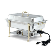 Vollrath 46045 Short Side Receptacle Electric Chafer - Vollrath Chafers