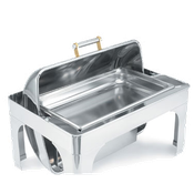 Vollrath 46259 Rectangle Dripless Water Pan - Vollrath Chafers
