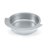 Vollrath 46269 Round Dripless Water Pan - Vollrath Chafers