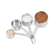 Vollrath 46589 Straight-Sided Measuring Spoon Set - Vollrath Kitchen Prep Utensils