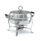 Vollrath 46860 6 Qt Royal Crest Round Chafer Dish - Vollrath Chafers