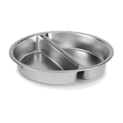 Vollrath 46861 Divided Food Pan - Vollrath Chafers
