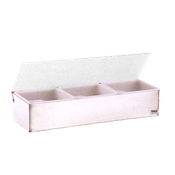Vollrath 4705 Kondi-Keeper Condiment Dispenser with Standard Lid - Vollrath Bar Supplies
