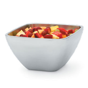 Vollrath 47675 Double Wall Square Plain Bowl - Vollrath Servingware