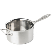 Vollrath Intrigue 4-1/4 Qt Stainless Steel Sauce Pan - Vollrath Cookware