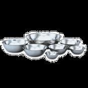 """Vollrath 47934 Mixing Bowl, 4 Quart, Stainless, 10 11/16"""" - Vollrath Kitchen Prep Utensils"""