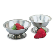 Vollrath 48315 Paneled Sherbet Dish - Vollrath Dinnerware