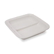 Vollrath 49136 Porcelain Divided Food Pan - Vollrath Chafers