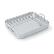 Vollrath 49433 Miramar Large Food Pan with Handle - Stainless Steel Roasting Pans