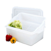 Vollrath 52618 Drain Box Kit - Vollrath Warewashing and Handling Supplies
