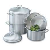 Vollrath 68122 Wear Ever 3 Qt. Rice / Vegetable Steamer - Vollrath Cookware