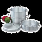 Vollrath 68125 Wear Ever 3-Tier Vegetable Steamer - Vollrath Cookware