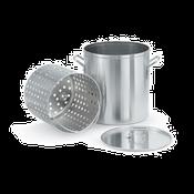 Vollrath 68270 Wear Ever Aluminum 40 Qt. Steamer/Boiler/Fryer Set - Vollrath Cookware