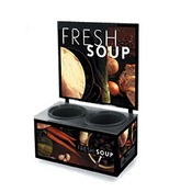 Vollrath 7203102 Soup Menu Tuscan - Vollrath Warming and Display Equipment