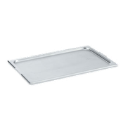 Vollrath Super Pan V 1/2 Size Slotted Lid - Steam Table Pan Lids