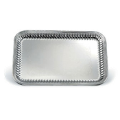 Vollrath 82166 Esquire Rectangle Fluted Tray - Vollrath Servingware