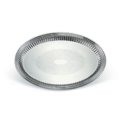 Vollrath 82173 Esquire Oval Fluted Tray - Vollrath Servingware