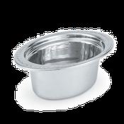 Vollrath 8230110 Miramar Decorative Oval Food Pan - Vollrath Food Crocks and Pans