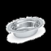 Vollrath 8230210 Miramar Decorative Oval Food Pan - Vollrath Food Crocks and Pans
