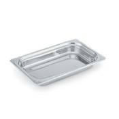 Vollrath 8230410 Miramar Full Size Decorative Rectangular Food Pan - Vollrath Food Crocks and Pans