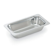 Vollrath 8231005 Miramar Third-Size Food Pan - Third Size Steam Table Pans