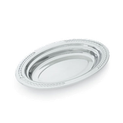 Vollrath 8231420 Miramar Decorative Oval Food Pan - Vollrath Food Crocks and Pans