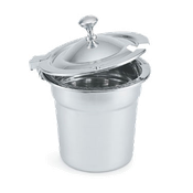Vollrath 8231610 Miramar Hinged Cover Chrome Knob - Vollrath Mobile Serving Equipment