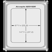 Vollrath 8240514 Miramar Template Plate - Vollrath Steam Table Pans