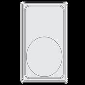 Vollrath 8240714 Miramar Template Plate - Vollrath Steam Table Pans