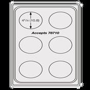 Vollrath 8241914 Miramar Template Plate - Vollrath Steam Table Pans