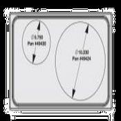 Vollrath 8242414 Miramar Single Size Template - Vollrath Steam Table Pans