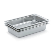 "Vollrath Full Size, 1-1/2"" Deep Super Pan 3 - Full Size Steam Table Pans"