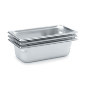 Vollrath 90302 Super Pan 3 Tray - Third Size Steam Table Pans