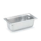 "Vollrath 1/3 Size, 2"" Deep Super Pan 3 - Third Size Steam Table Pans"