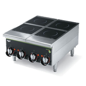 Vollrath 924HIMC Cayenne Four-Hob Induction Hot Plate - Countertop Induction Ranges