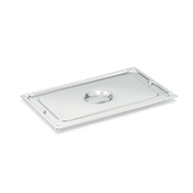 Vollrath Solid 1/2 Size Long Super Pan 3 Lid - Steam Table Pan Lids
