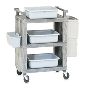 Vollrath 97111 Closed-End Utility Cart - Vollrath Carts