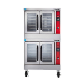 Vulcan VC44ED Double Deck Electric Convection Oven - Double Deck Convection Ovens